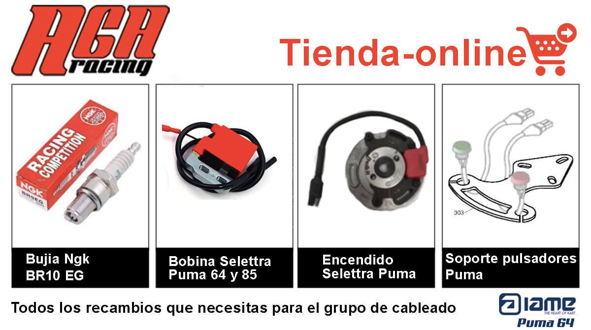 comprar recambios y piezas de motor Puma 64