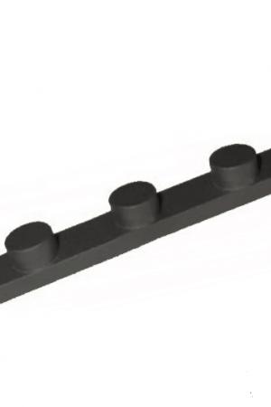 chaveta de tres tetones para eje de 30mm y 32mm