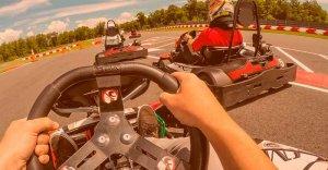 pantalla iridium azul OMP aga racing tienda karting