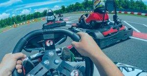 pantalla iridium dorada OMP aga racing tienda karting