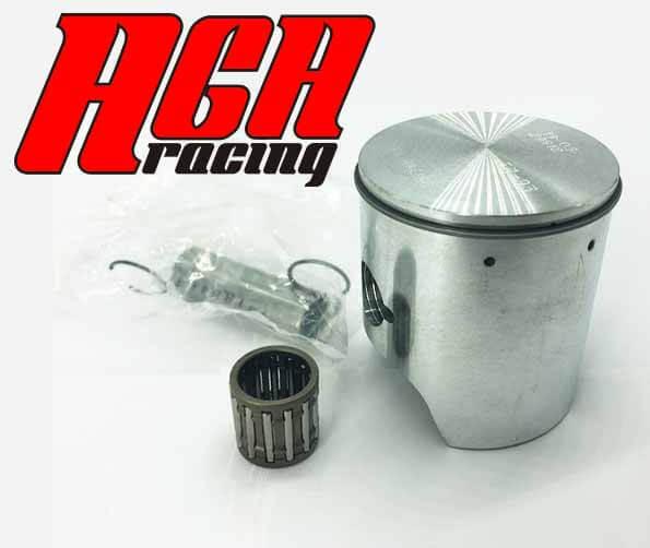 la importancia de un piston preparado para competición motor TM AGA Racing tienda karting